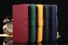 Colorful Genuine Leather classic case for iPhone 6, iPhone 5 and iPhone 4 and for Samsung S5 and Note 3
