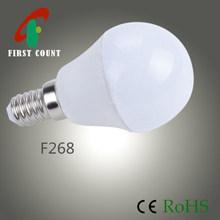 E14, Epistar SMD 2835, 3W, 4.5W, 200 Bean Angle Aluminum + Plastic LED Bulb light