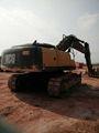 Usado escavadeira tonelada 33.1 john deere escavadeira 330lc novo modelo com refrigeração