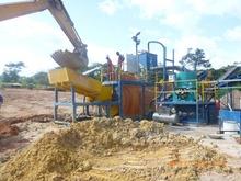 Alluvial + Hard Rock Mining Combination Washplant