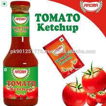 Tomato ketchup bottle , Tomato ketchup sachet , Pakistan top quality tomato ketchup
