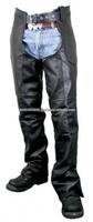 BPC-902 Black Genuine Cowhide Leather Chaps