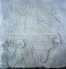 Transfigation of Jesus Catholic stone relief DSF-C076