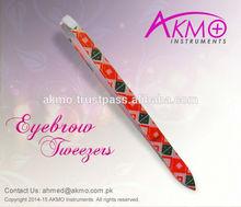 Cosmetic Tweezers / Eyebrow Tweezers / Get Your Private Logo Printed Tweezers From AKMO