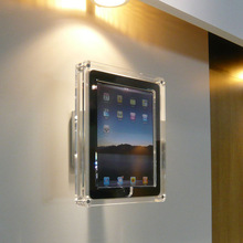 Japanese acrylic covers for iPad available in floor , case and wall type