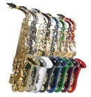 ALL COLOR ALTO SAXOPHONE SAX W/5 YEARS WARRANTY.