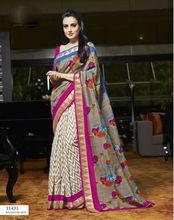 Daily wear indian sarees for women at wholesale price / latest bhagalpuri silk sarees
