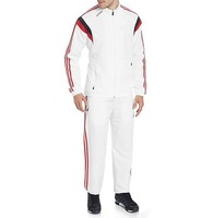 very HOT White design Sports jogging Track Suit in all quantiites in Competitive prices