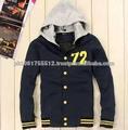 varsity là melton com jaquetas de couro de qualidade superior mangas