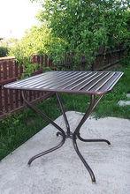 Wrought Iron - Table tube 80x80xH75, i15