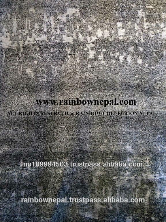 nepal el dokuması modern yün bambu ipek aloe Tibet kilim
