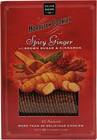 Salem Baking Co. Cookies, Moravian, Spicy Ginger, with Brown Sugar & Cinnamon - 5 oz