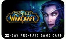 World of Warcraft 30/90/180 Day Time Codes US/AU/NZ