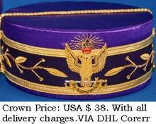 Masonic Regalia Crown