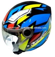 LEV3 BJ-3100 HALF FACE MOTORCYCLE HELMET