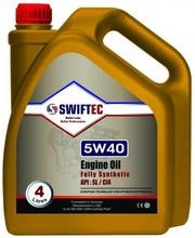 Swiftec Engine Oil Fully Synthetic 5W40 (API SL/CI4) 4 L