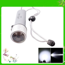 High Quality 700LM IPX-8 Waterproof LED Scuba Diving Flashlight Gray
