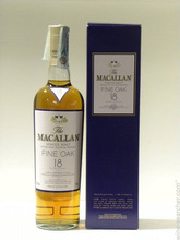 Macallan 18-Year-Old Sherry Oak Single Malt Scotch Whisky