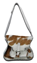 Genuine Leather Material and Tote Bag Style Leather Hand Bags For Ladys