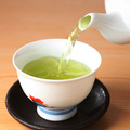 riche saveur organique de thé vert sencha matcha en poudre mélangé avec