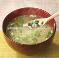 Delicioso shijimi clam instantâneo miso congelado sopa made in Japan
