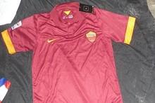 ORIGINAL FOOTBALL/Soccer KIT/uniform AS ROMA 2014/15 EXPOSED