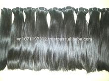 Discount 10- 20 % brown remy human hair VietNam/ Cambodian/ Brazil 100% unproccessed thin hair 12- 32 inch
