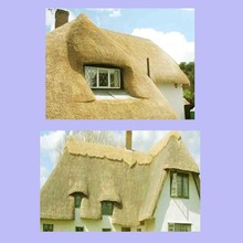 Thatch Roof Water Reed Construction in British Virgin