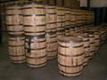 utilizados barris de carvalho