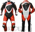 Professional moto en cuir costume