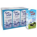 larga vida semi descremada leche uht 1l
