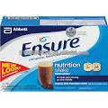 Garantizar la leche cremosa de Chocolate 8 Oz nutrición da la mano 24 Ct de plástico