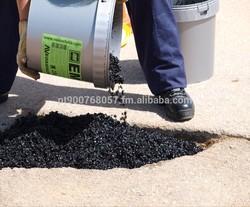 Cold Asphalt Mix - Pothole instant and permanent repair