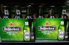 Green Bottles Pack Cans Beer HK