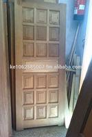 Mahogany Panel Door