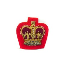 BAHAMAS CROWN ON NAVY OR RED BADGES