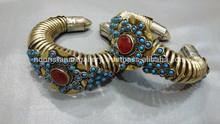 (KB-0010) Afghan Cuff / kuchi bracelet /tribal jewellery