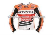 Motosiklet, motosiklet honda repsol marc marquez motogp 2014 deri ceket
