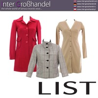 Italy fashion for women. LIST clothes at wholesale price