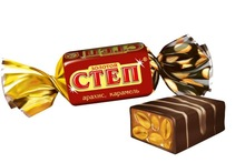 "Chocolate candy ""Golden step"""