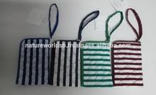 2014 Fashion Stripe Cotton Cell Phone Pouch