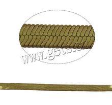 Gets.com brass herringbone laminate flooring