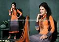 india al por mayor ropa étnica salwar kameez de diseño de la tela de seda kurta