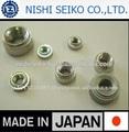 Leve JIS padrões rivet nut made in japan, Vários tipos de porca disponível
