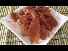 crystal dried chicken jerky slice pet food