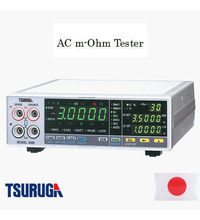General instruments for measurement of internal resistance: Ac m-ohm meter, Tsuruga Electric Coporation, 1 kHz frequency type