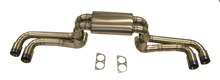 Titanium Aftermarket Exhaust System for F430 by Top Gear Tuning