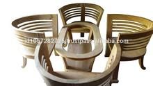 set wooden furniture