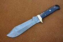 USA Zobi Custom Made Damascus Puma Knife