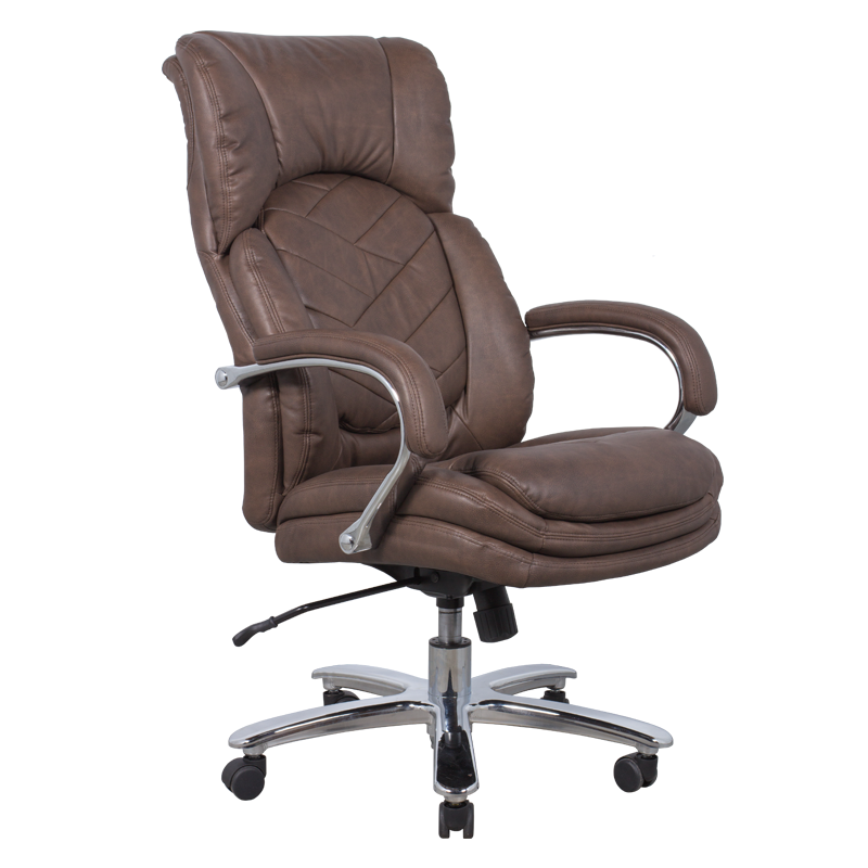 High Back Quality Manager Ergonomic Computer Pu Swivel Desk Office Chair With